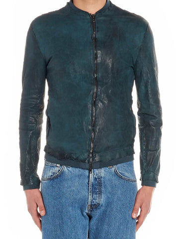 Salvatore Santoro Raw Hem Bomber Jacket