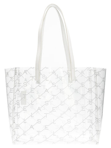 Stella McCartney Logo Clear Tote Bag