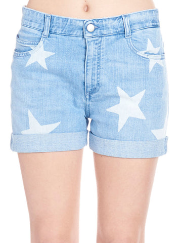 Stella McCartney Star Print Mini Shorts