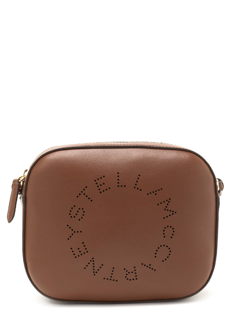 Stella McCartney Logo Faux Mini Crossbody Bag
