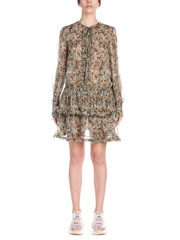 Stella McCartney Eliza Frilled Dress