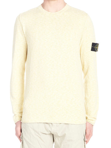 Stone Island Logo Patch Knitted Jumper