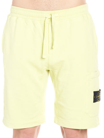 Stone Island Logo Patch Relaxed Shorts