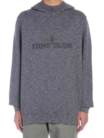 Stone Island Embroidered Logo Hoodie