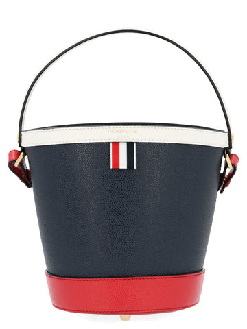 Thom Browne Logo Bucket Bag
