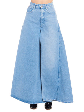 Y / Project High-Waisted Maxi Skirt