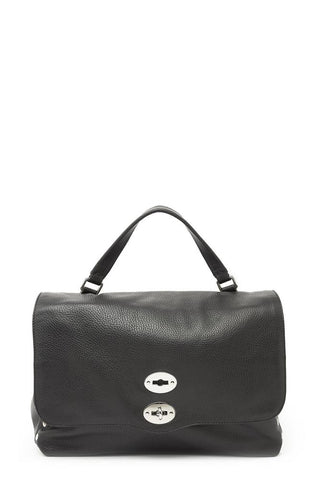 Zanellato Postina Side Studs Large Tote Bag