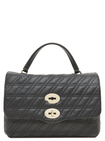 Zanellato Postina Quilted Top Handle Bag