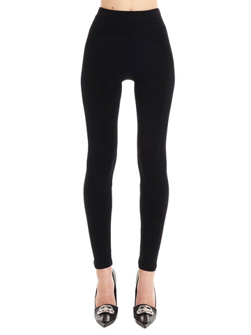 Balenciaga Perforated Logo Detail Leggings