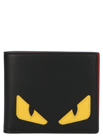 Fendi Bag Bugs Bifold Wallet