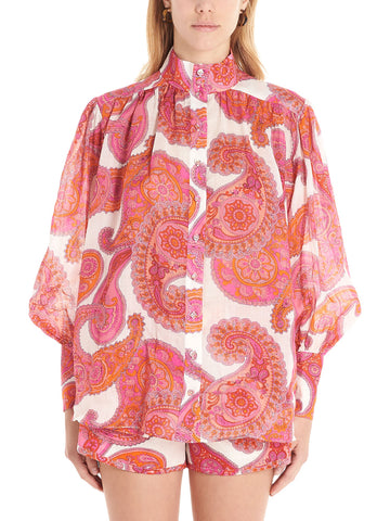 Zimmermann Peggy Billow Sleeve Shirt