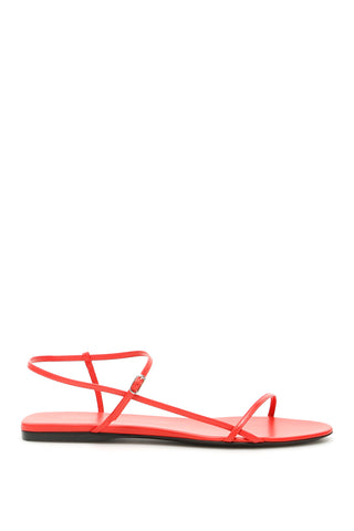 The Row Flat Slingback Strap Sandals