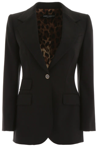 Dolce & Gabbana Single Breasted Blazer
