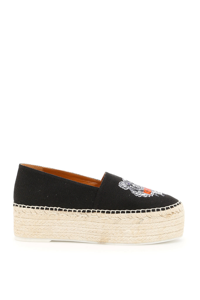 Kenzo Platform tiger espadrilles Cheap Sale New Arrival Pre Order Cheap Price Sale Affordable Outlet Fast Delivery 6TqE9U