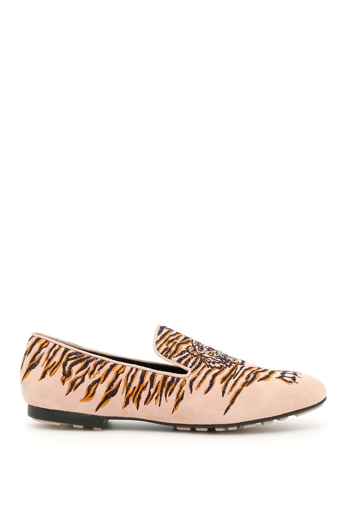 KENZO EMBROIDERED TIGER LOAFERS