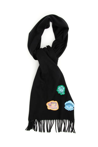 Kenzo Patches Scarf