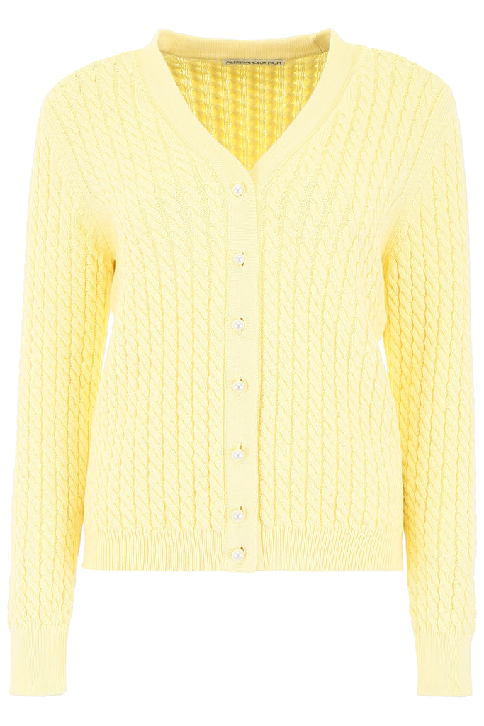 Alessandra Rich Knits ALESSANDRA RICH KNITTED CARDIGAN