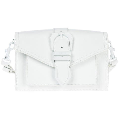 Versus Versace Monochrome Belt Buckle Shoulder Bag