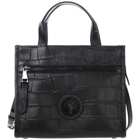Versus Logo Embossed Tote Bag