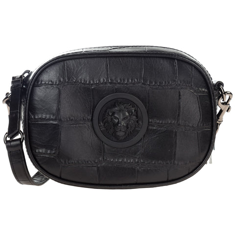 Versus Lion Logo Detail Crossbody Bag