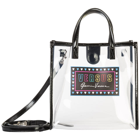 Versus Sheer Logo Tote Bag