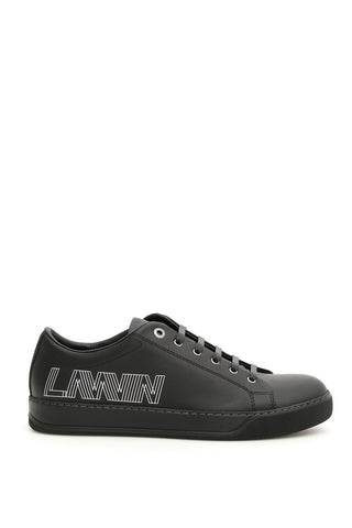 Lanvin Monogram Printed Sneakers