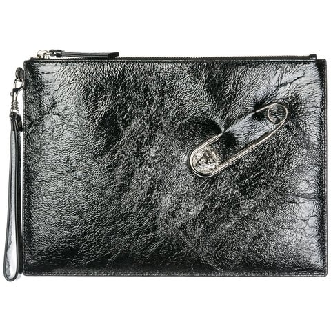 Versus Zipped Clutch Bag