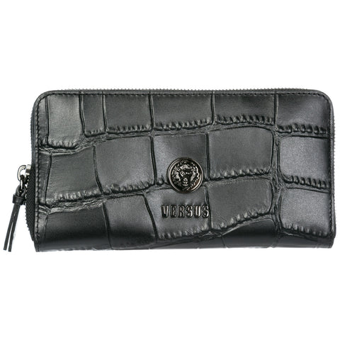 Versus Crocodile Effect Zipped Wallet