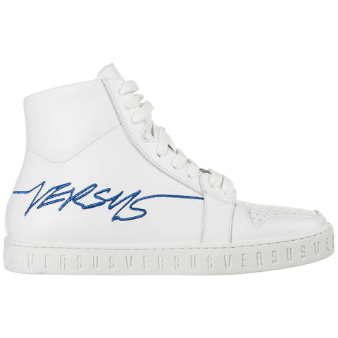 Versus Logo Hi-Top Sneakers