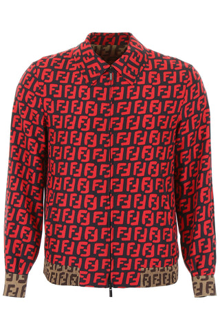 Fendi FF Printed Reversible Jacket