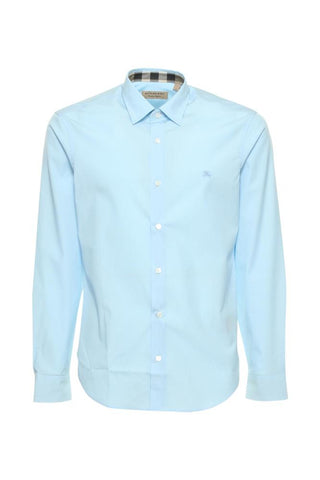 Burberry House Check Collar Shirt