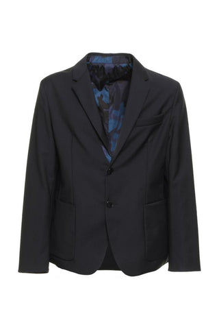 Valentino Reversible Patterned Blazer