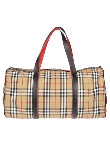 Burberry Checked Contrast Lining Bag