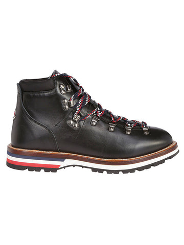 Moncler Signature Tri-color Stripe Peak Boots