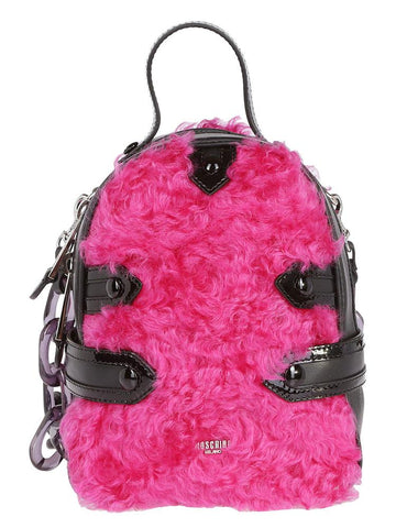 Moschino Contrast Mini Backpack