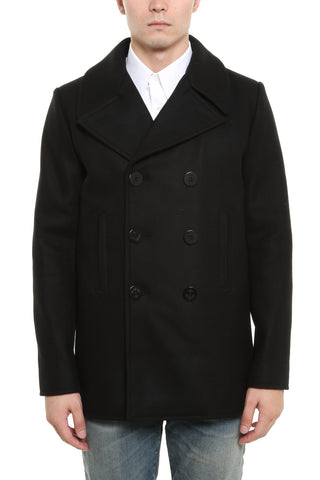 Saint Laurent Cabin Marin Coat