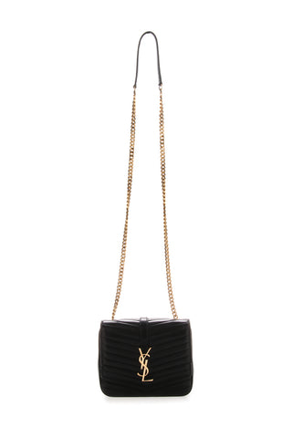 Saint Laurent YSL Logo Quilted Crossbody Bag