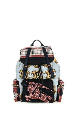 Burberry Large Rucksack Horse Print Backpack