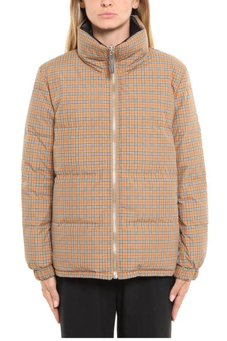 Burberry Vintage Check Reversible Down Jacket