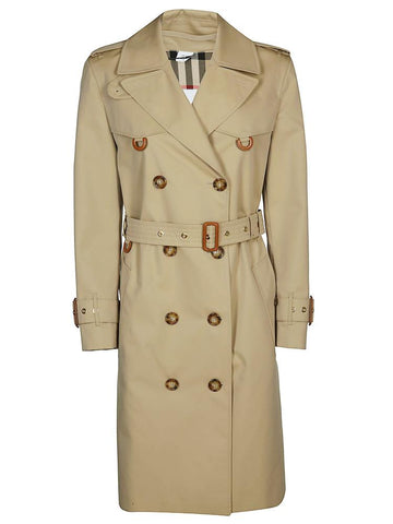 Burberry Islington Double Breasted Belted Coat