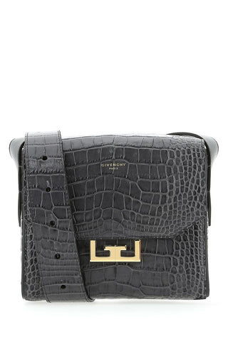 Givenchy Eden Small Croc Effect Shoulder Bag