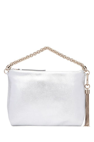 Jimmy Choo Callie Metallic Clutch Bag