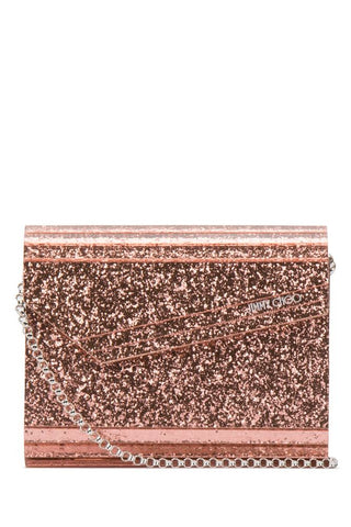 Jimmy Choo Candy Glitter Acrylic Clutch Bag