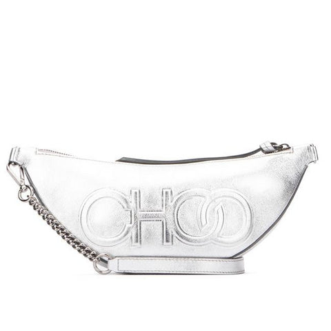Jimmy Choo Faye Metallic Belt Bag