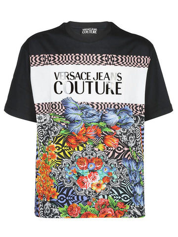 Versace Jeans Logo Printed T-Shirt