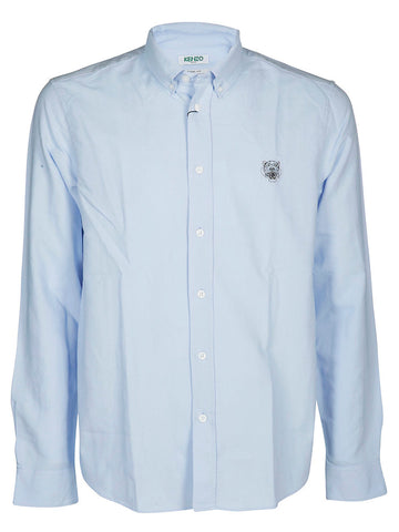 Kenzo Tiger Embroidered Crest Shirt