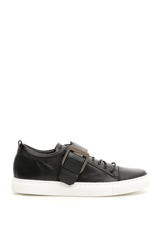 Lanvin Buckled Sneakers