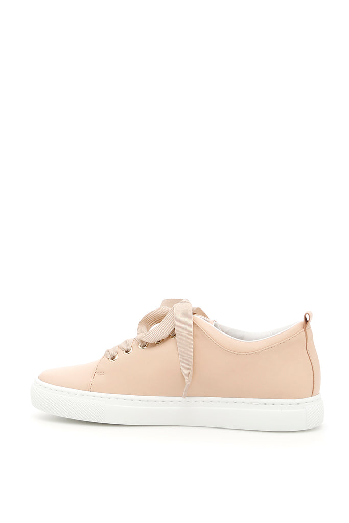 Perforated Logo Sneakers - IT36 / Pink Lanvin SNz0h6PLh