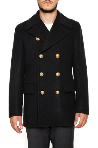 Dolce & Gabbana Double Breasted Short Coat