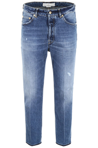 Golden Goose Deluxe Brand Distressed Straight-Leg Jeans